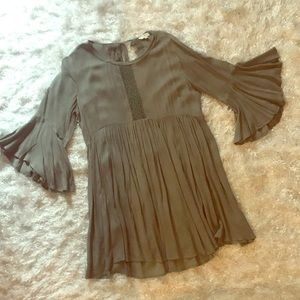 NWOT Beautiful sage dress